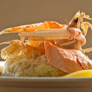 La Taverne des Rois : Choucroute de la mer