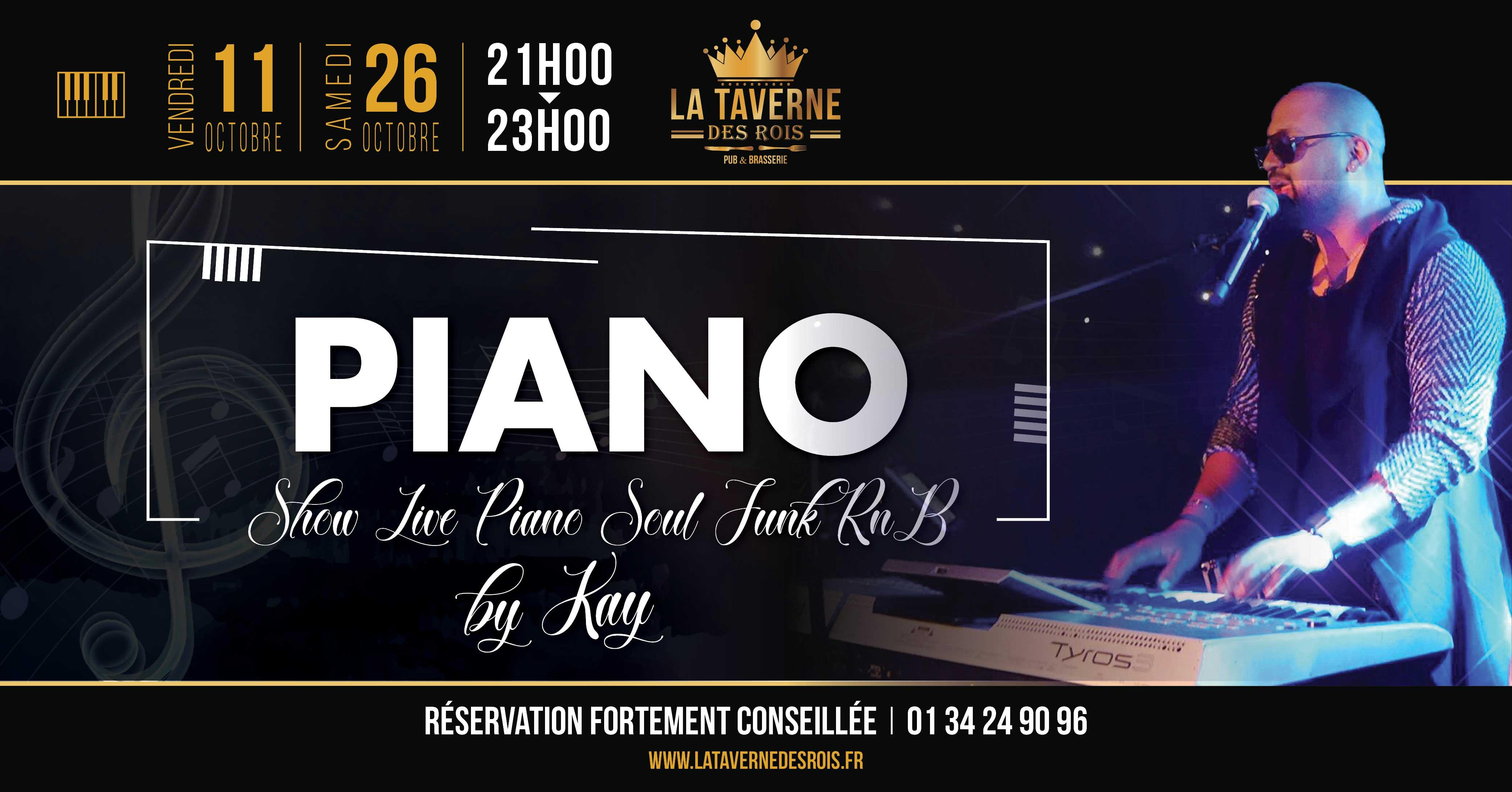 La Taverne des Rois concert piano 11 octobre