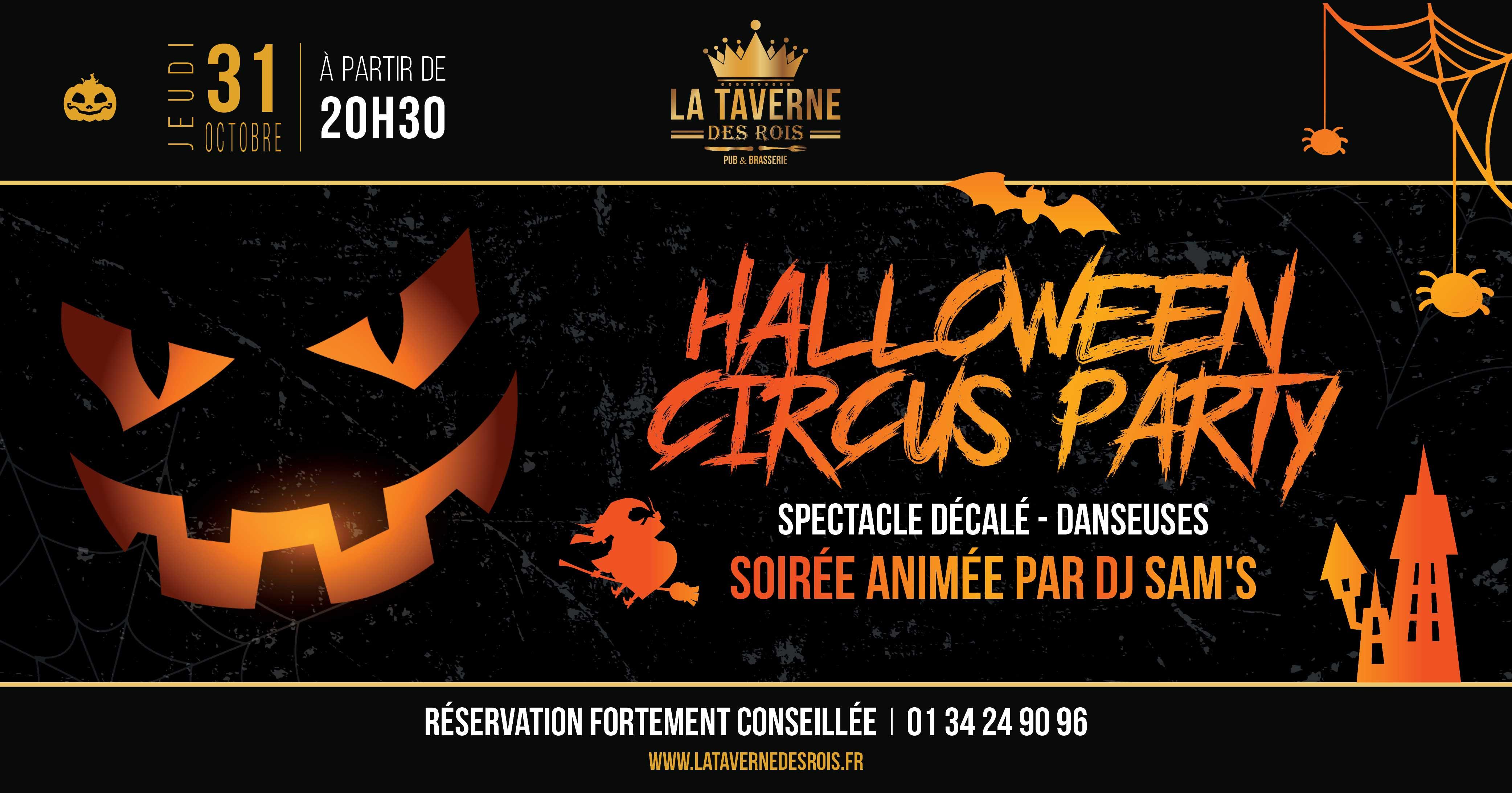 La Taverne des Rois Halloween Circus Party