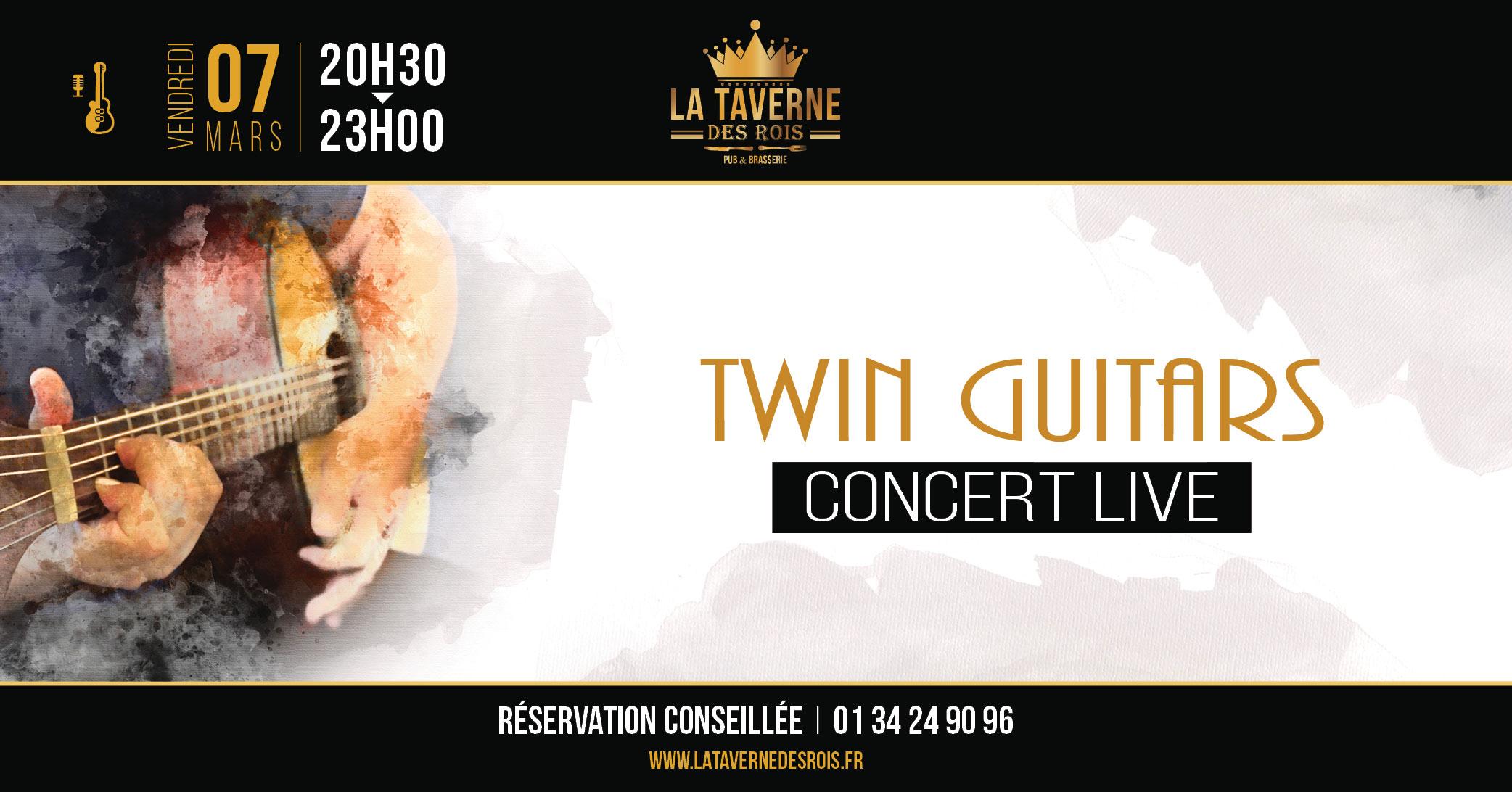 La Taverne des Rois - Twin Guitars - 07 mars