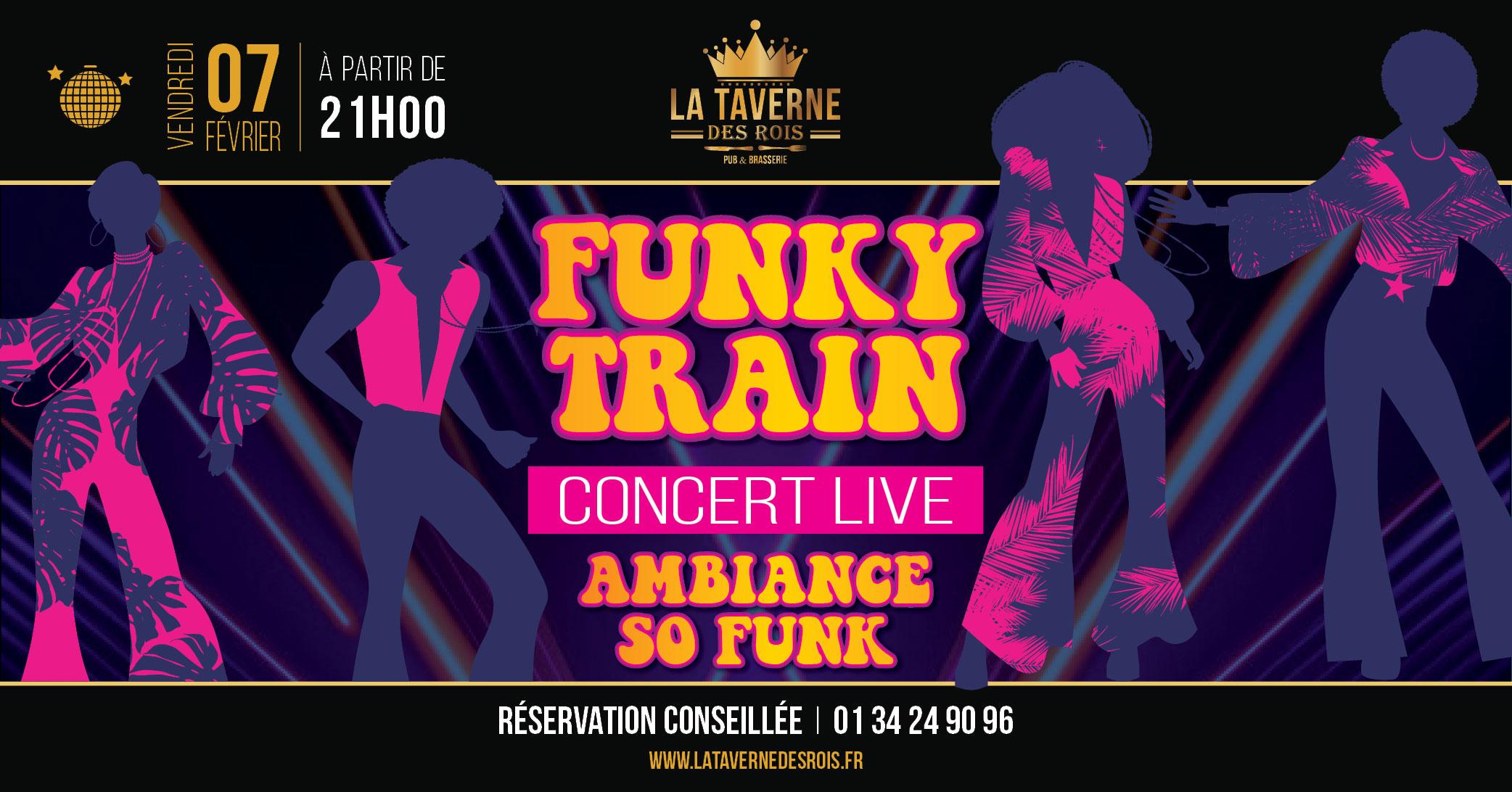La Taverne des Rois - 7 février - Funky Train